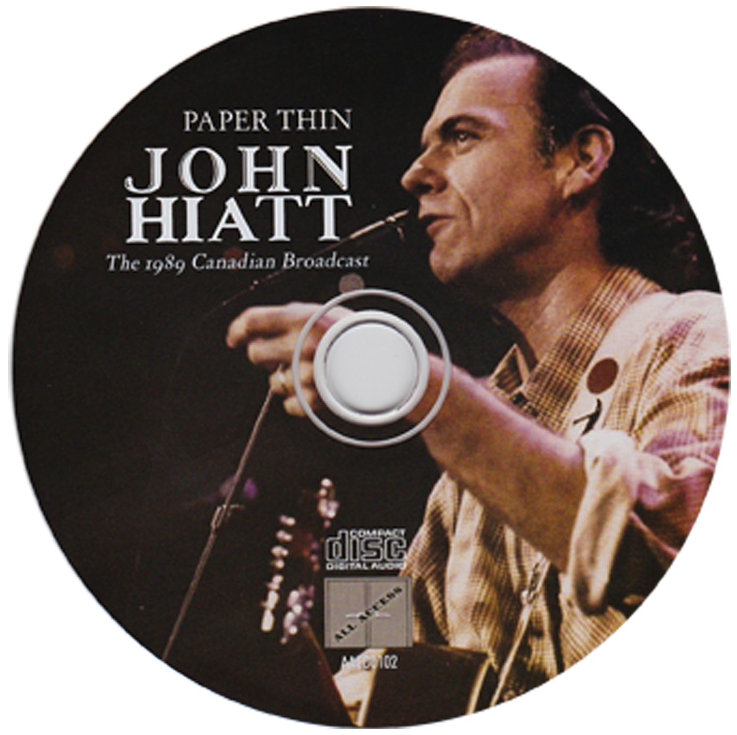 The John Hiatt Archives – Paper thin